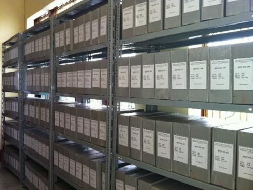 Một kho lưu trữ hồ sơ tại quận 9